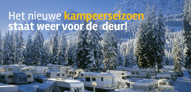 Het nieuwe kampeerseizoen staat voor de deur