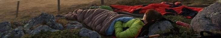 Slaapzakken deken