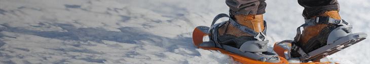 De techniek van sneeuwschoenwandelen