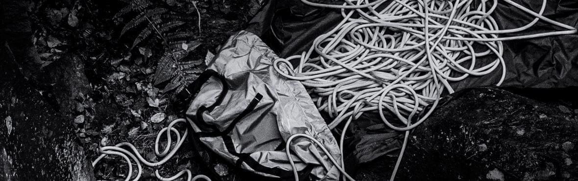 Gebruik een touwzak