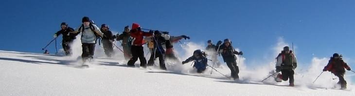Sommige wandelstokken kun je ook gebruiken voor sneeuwactiviteiten zoals sneeuwschoen wandelen en skiën