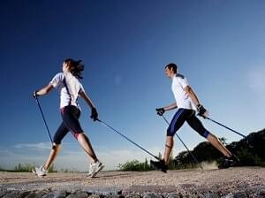 Veel gezien op de heide en in de bossen, Nordic walking stokken van Outdorado.com