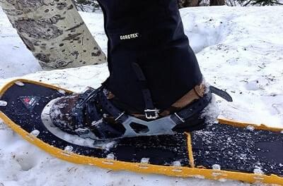 Voorkom natte voeten en gebruik ook gaiters in sneeuw