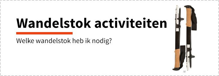 Wandelstok activiteiten