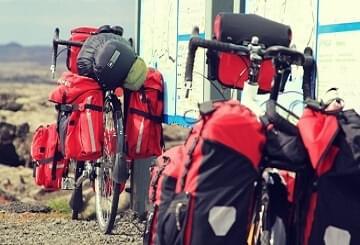 Mensen die op fietsvakantie gaan willen dat de brander in de fietstas past
