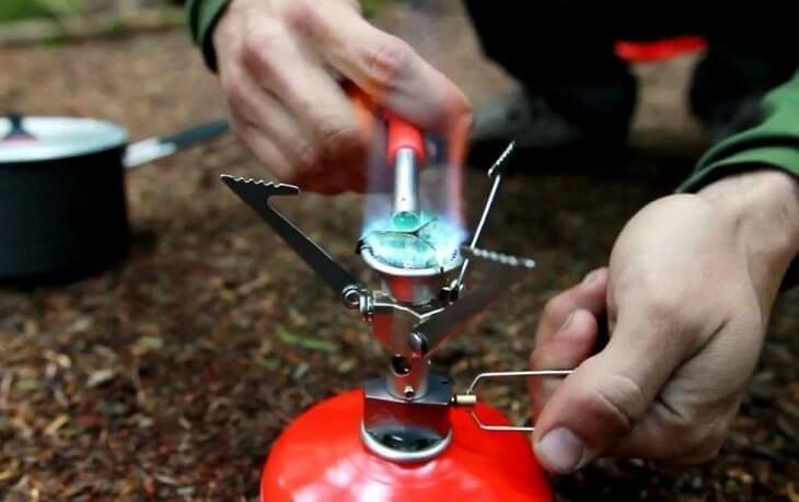 Gasbranders zijn de meest eenvoudige branders voor in je rugzak