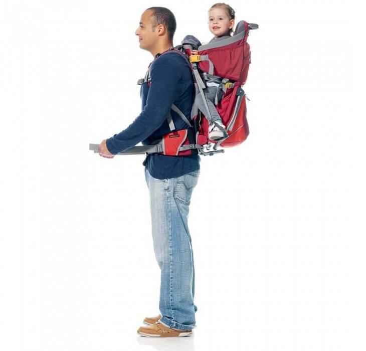 Kinderdragers zijn comfortabel voor de kinderen en de volwassenen
