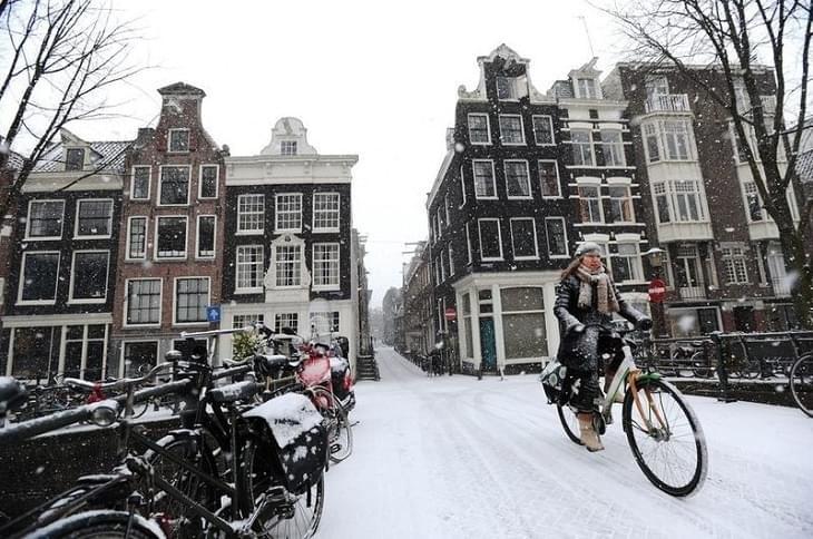 Vooral op de fiets krijg je snel koude handen