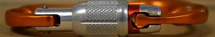 Materiaal en gebruik karabiners