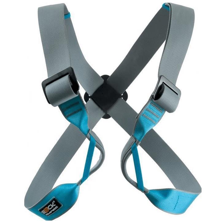 Borstegordels gebruik je als je met een rugzak op gaat klimmen