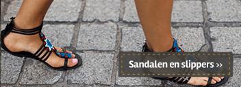 Sandalen en slippers