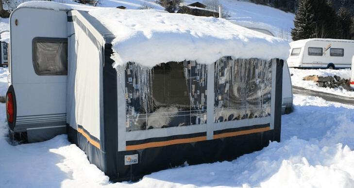 Wintertenten koop je bij Kampeerwereld Hendriks