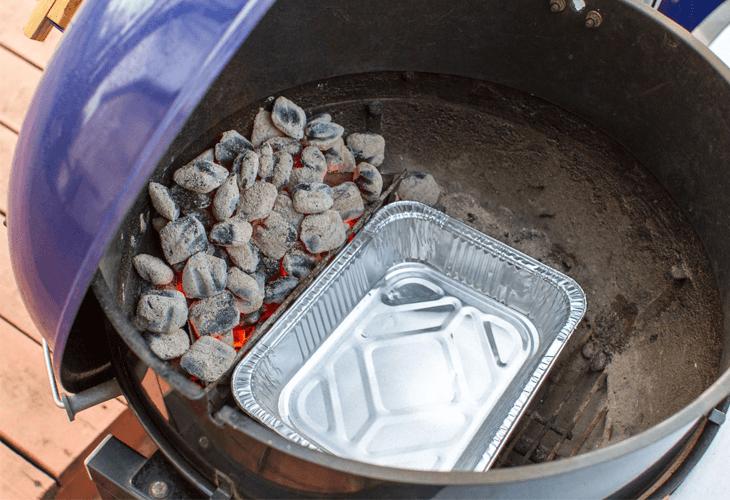 Aluminium bakjes voor in de barbecue