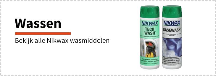 Nikwax wassen