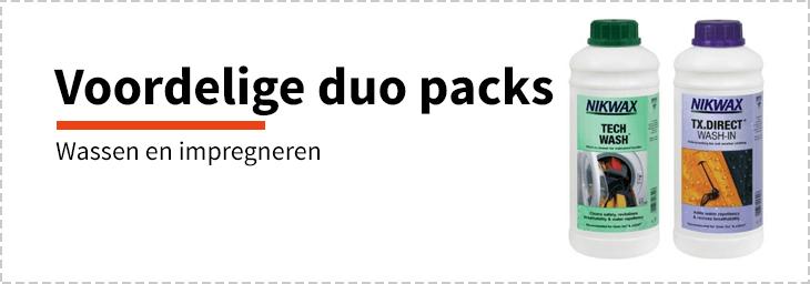 Nikwax duo packs