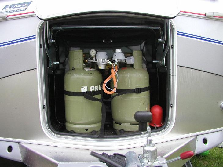 Gebruik van gas op de camping | Kampeerwereld.nl