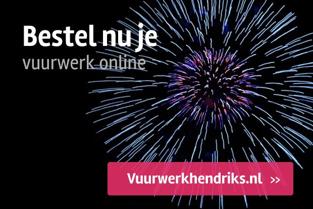 Vuurwerk verkoop Kampeerwereld Hendriks