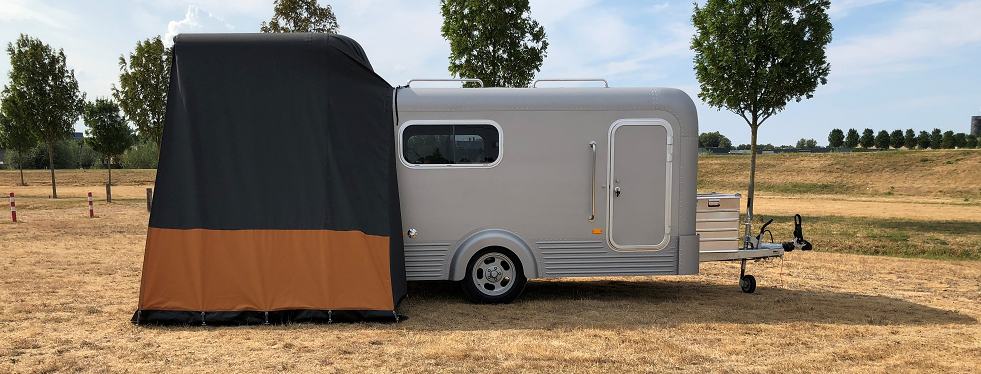 Lume Traveler Een Unieke Design Caravan Met Een Custom