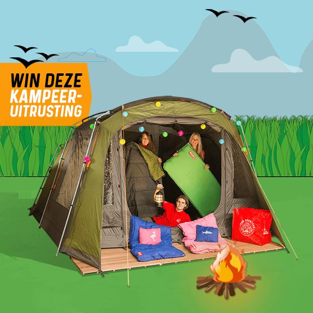 Win een kampeeruitrusting!