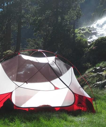 - Tent materialen