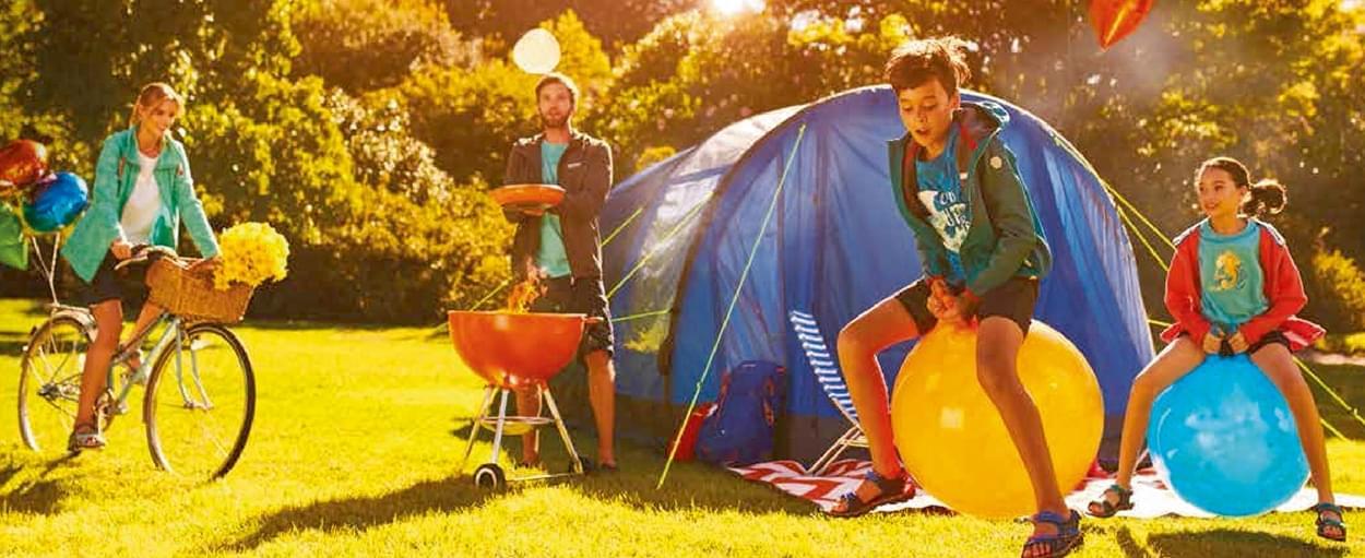 Voor het eerst kamperen