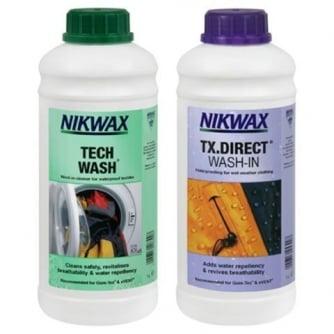 Nikwax Twin Pack Tech Wash/ TX-Direct 1 lt