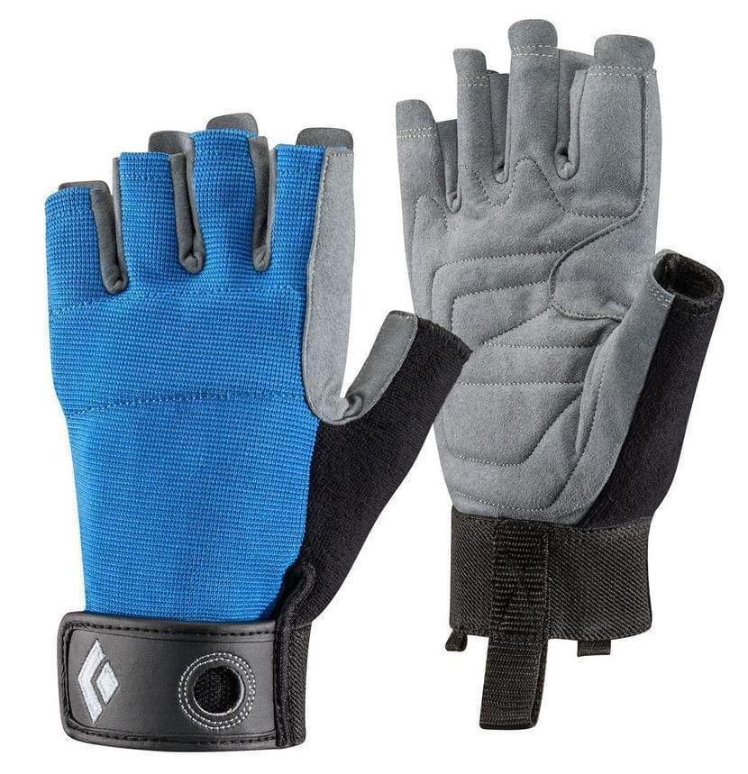 Black Diamond Crag Half Finger Glove Blue