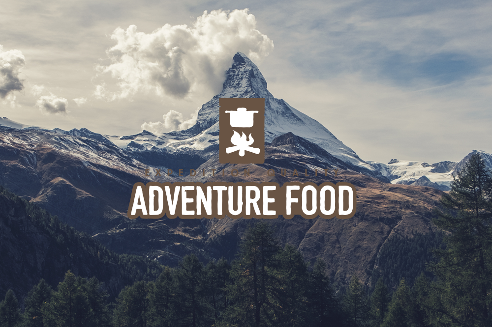 Adventure Food Vegetarisch  Twee porties Pasta Walnoot