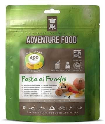 Adventure Food Vegetarisch Twee porties Pasta Kaas Champions