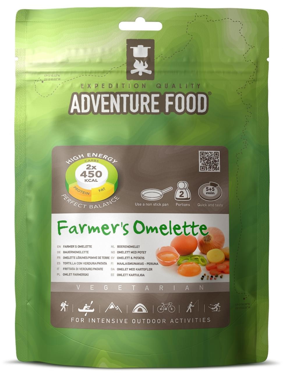 Adventure Food Twee porties Boerenomelet