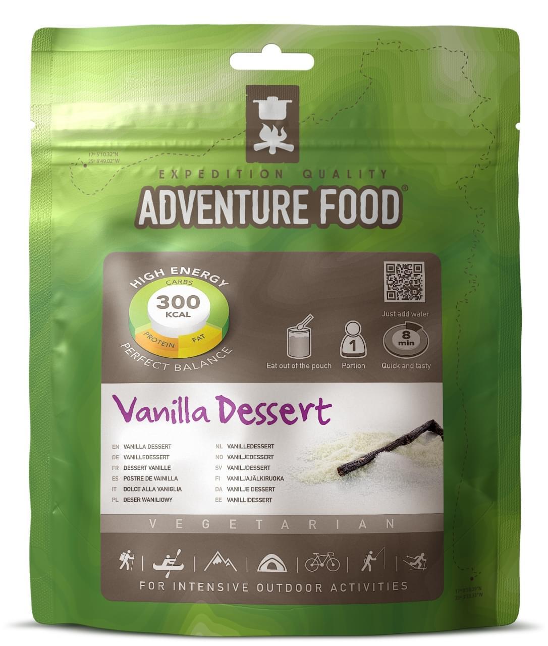 Adventure Food Dessert  Een portie Vanilla dessert
