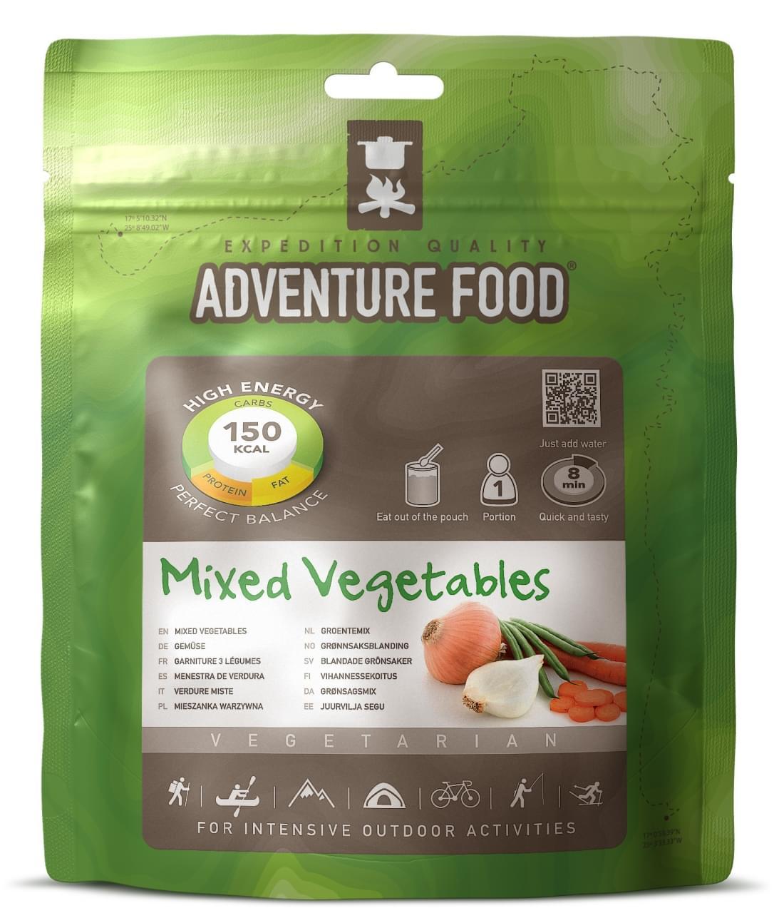 Adventure Food Een portie Mixed Vegetables