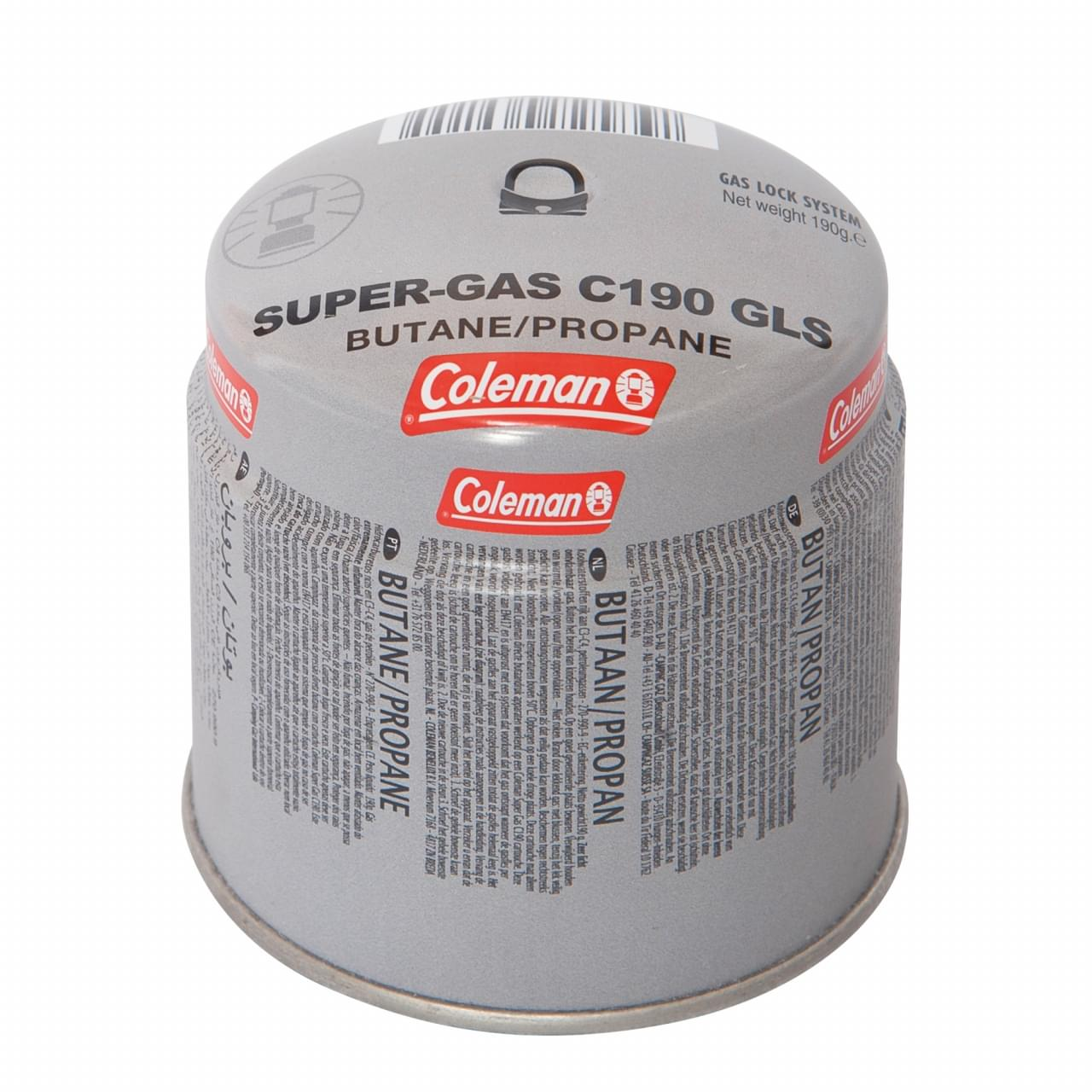 Coleman Gas cartridge C190