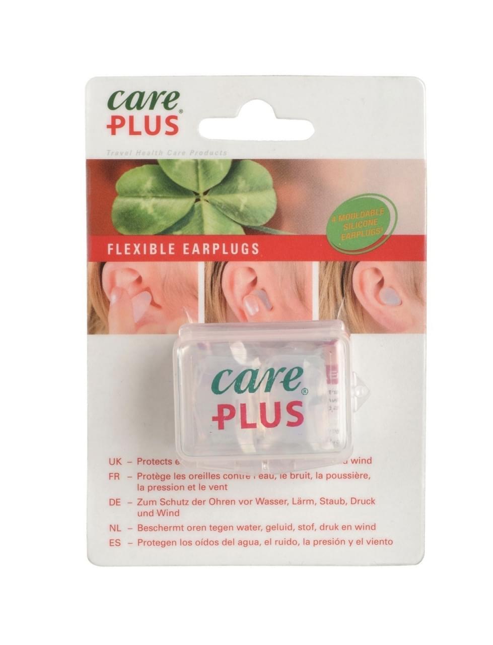 Care Plus Flexibele oordopjes - 4 stuks