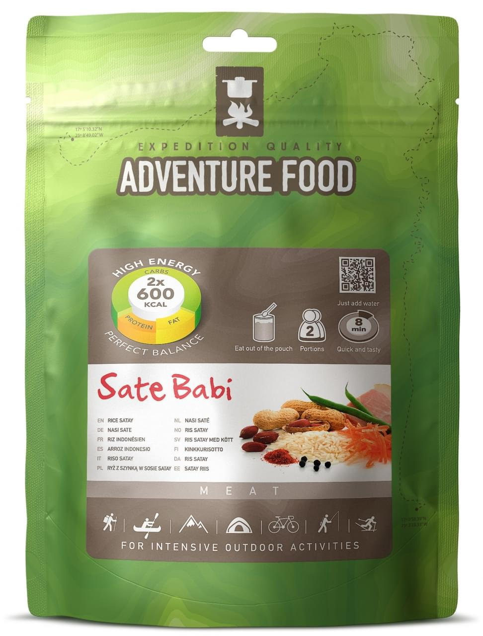 Adventure Food Twee porties Nasi sate