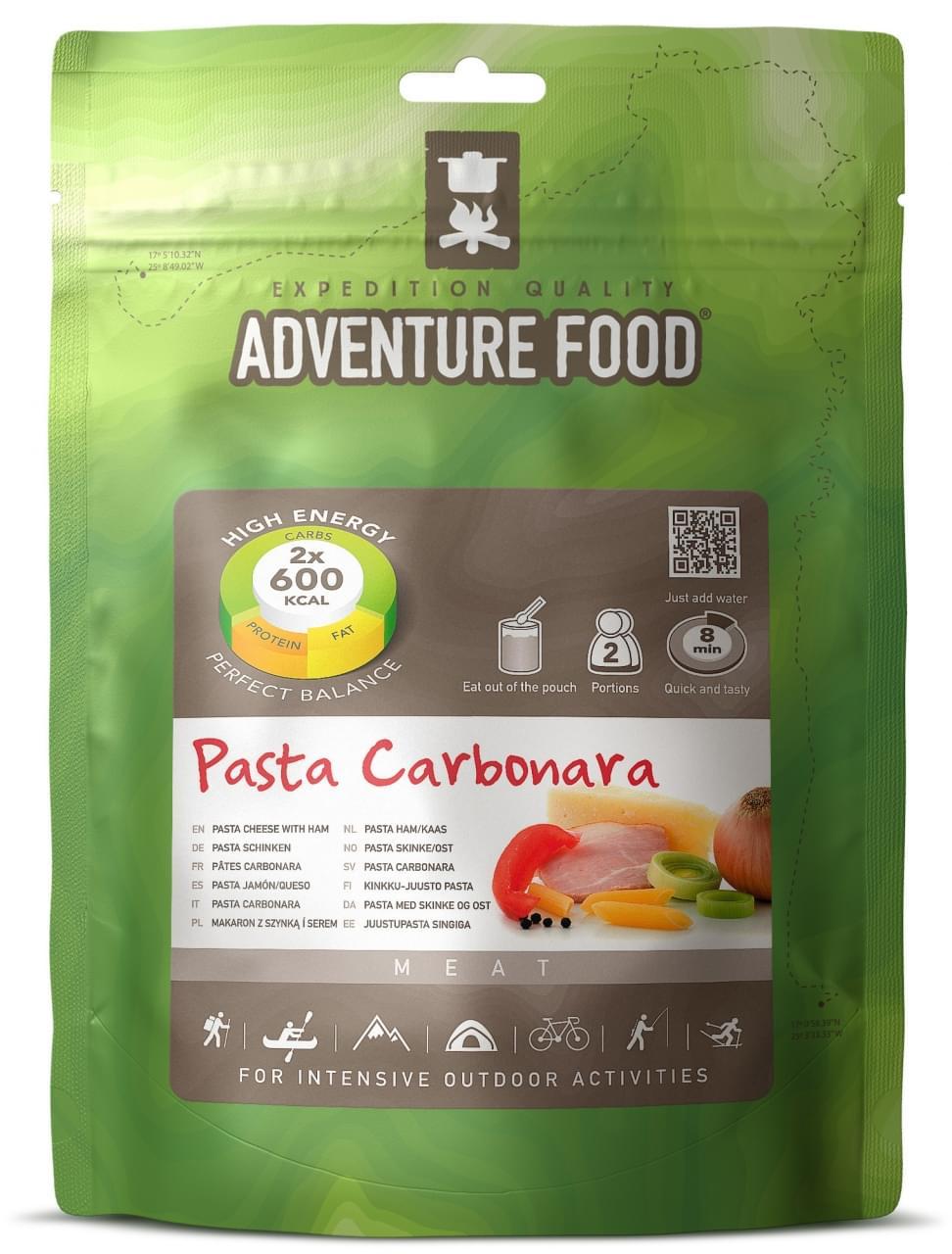 Adventure Food Twee porties Pasta Ham Kaas