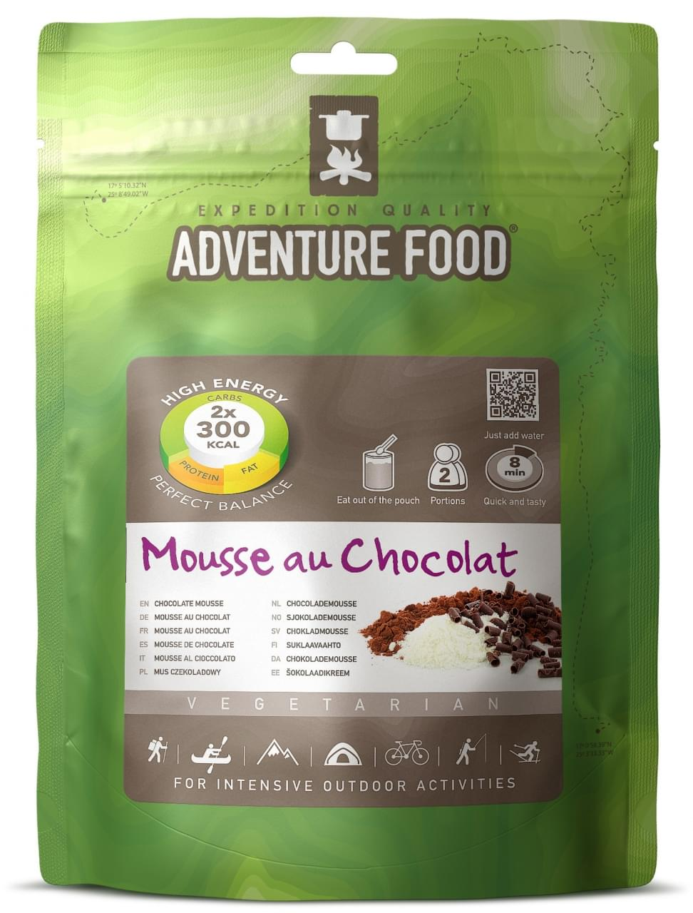 Adventure Food Dessert Twee porties Chocolademousse