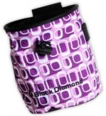 Black Diamond Chalkbag Print Paars