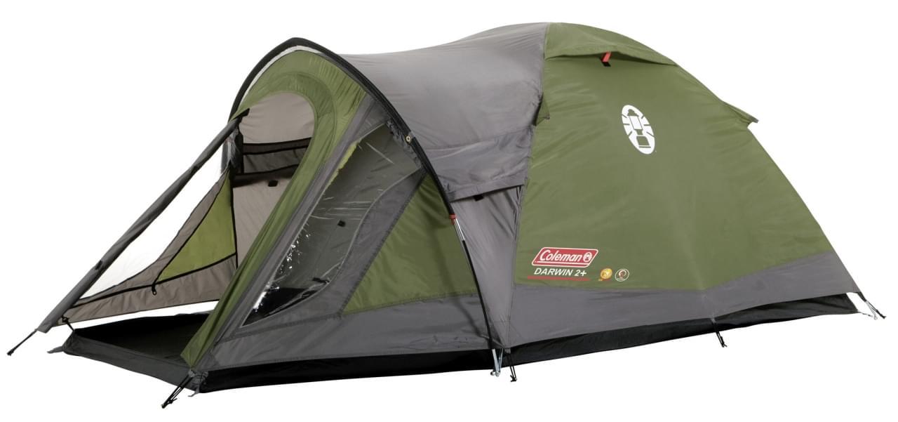 Coleman Darwin 2 Plus / 2 Persoons Tent - Groen