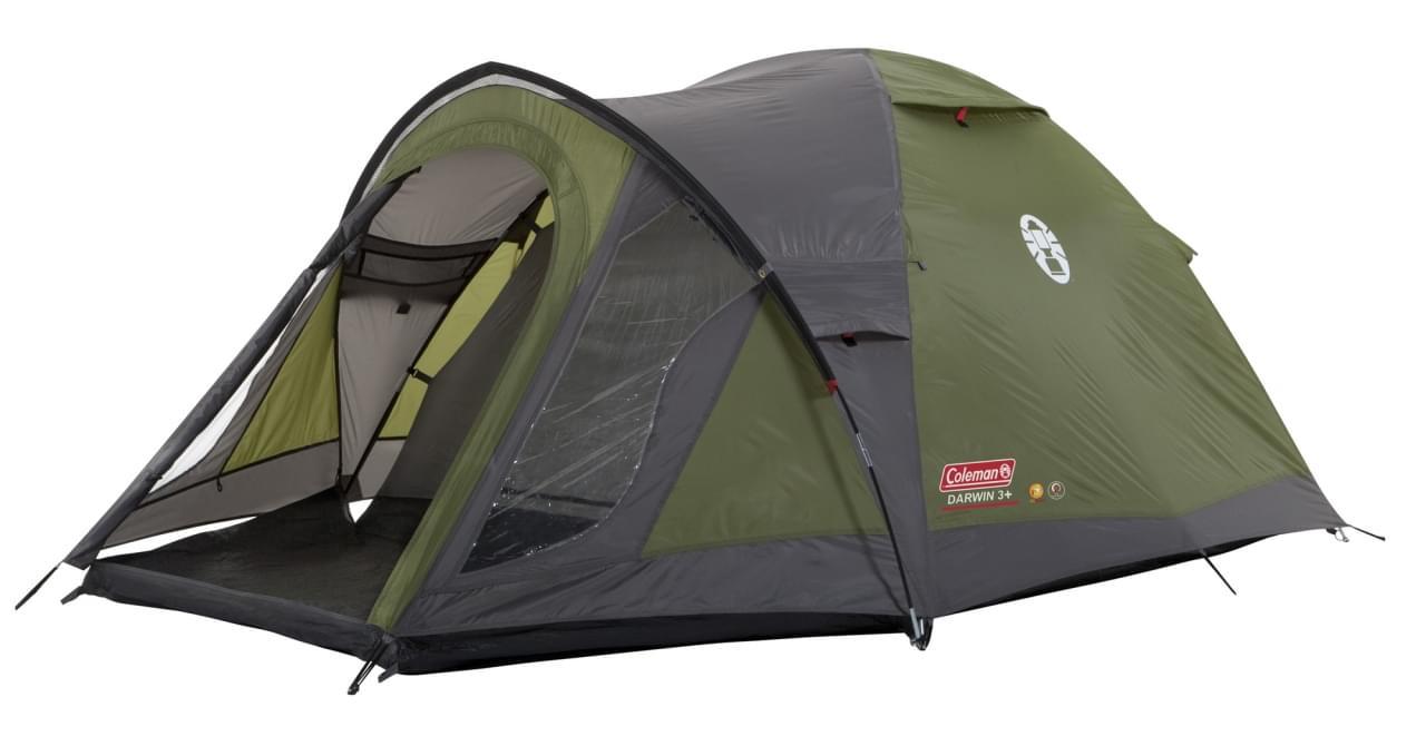 Coleman Darwin 3 Plus - 3 Persoons Tent - Groen