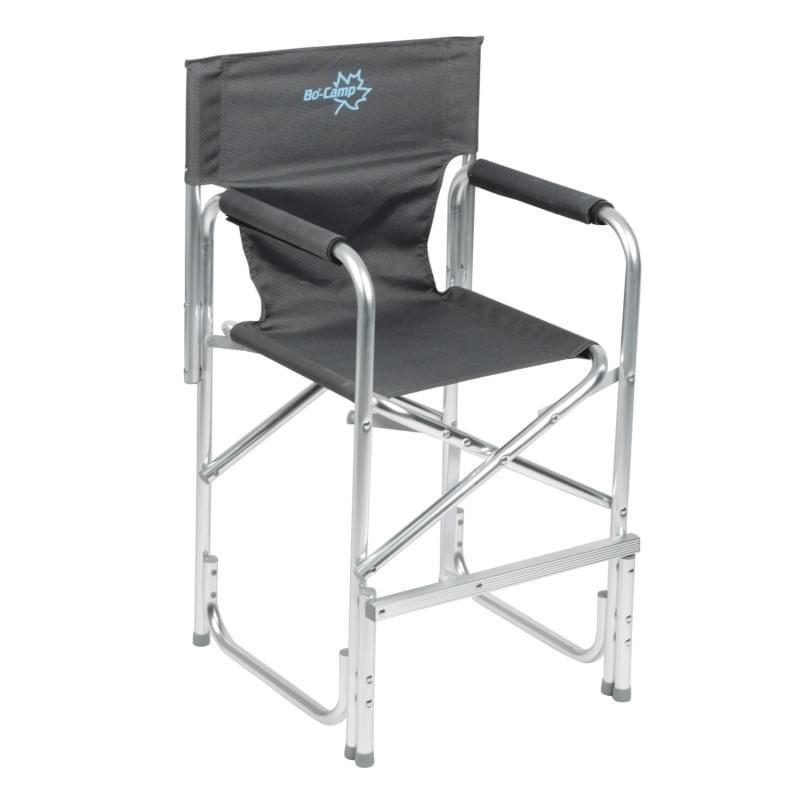 Bo-Camp Kinderstoel Aluminium Donkergrijs