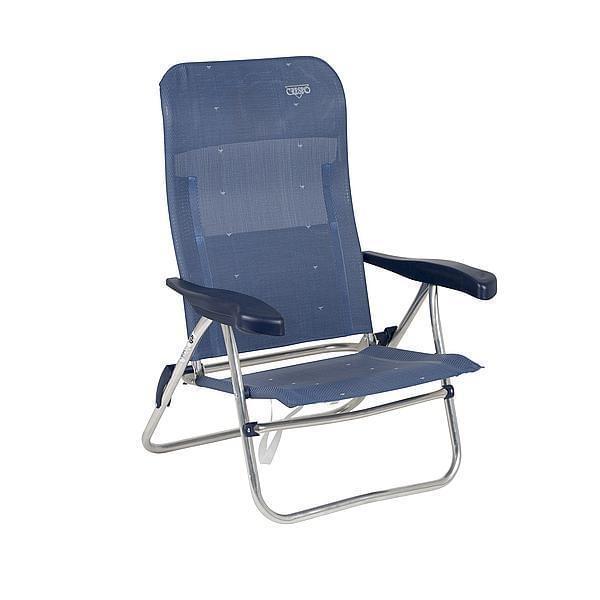 Crespo AL-205 Strandstoel - Blauw