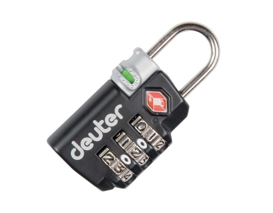 Deuter TSA-Lock cijferslot - Zwart