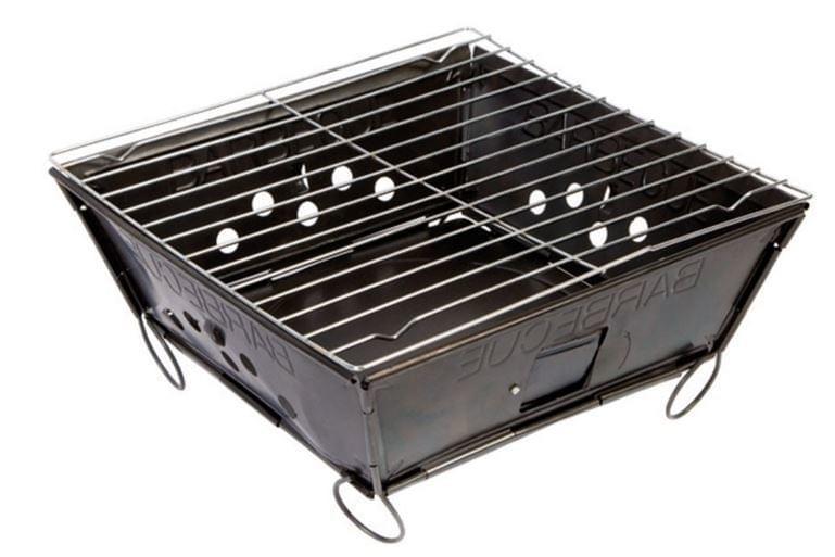 ML Barbecue Envelop Opvouwbaar / Houtskool Barbecue
