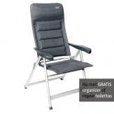 Crespo AL-237 Deluxe stoel Zwart GRATIS ACTIE