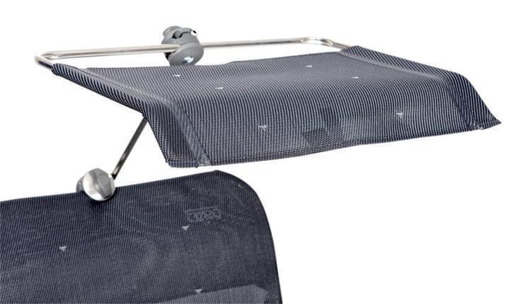 Crespo Zonnescherm grijs P-199