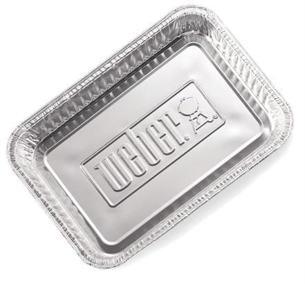 Weber Aluminium lekbakjes groot