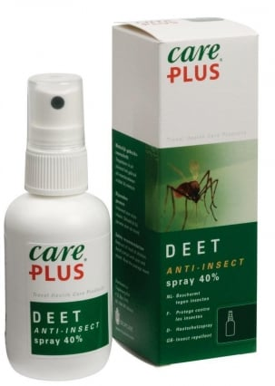 Care Plus CP® Anti-Insect Deet 40% spray, 60ml