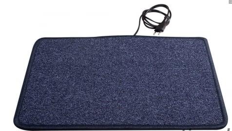 Heatek Verwarmd vloerkleed 100x40 blauw