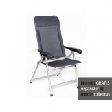 Crespo AL-237 stoel Donker Grijs GRATIS ACTIE